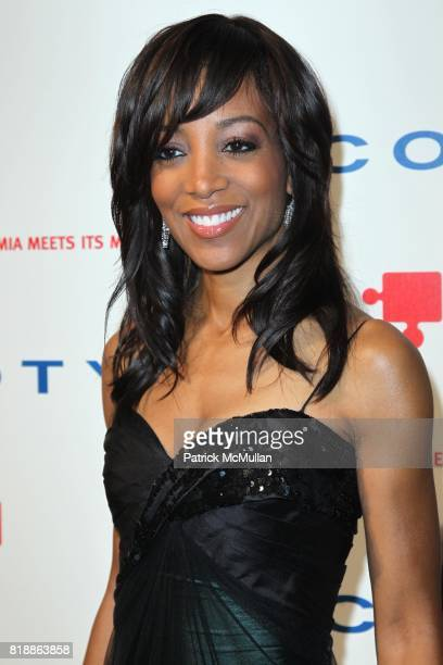 Shaun Robinson attends DKMS' 4th Annual Gala' LINKED AGAINST LEUKEMIA at Cipriani's 42nd St on April 29 2010 in New York City