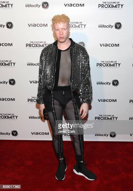 Shaun Ross attends Viacom 'Culture of Proximity' Screening at NeueHouse Los Angeles on August 24 2017 in Hollywood California