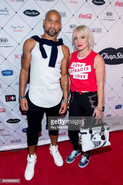Shaun T and Bethanie MattekSands attend Uncomon James Chinese Laundry By Kristin Cavallari at Bagatelle on September 11 2017 in New York City