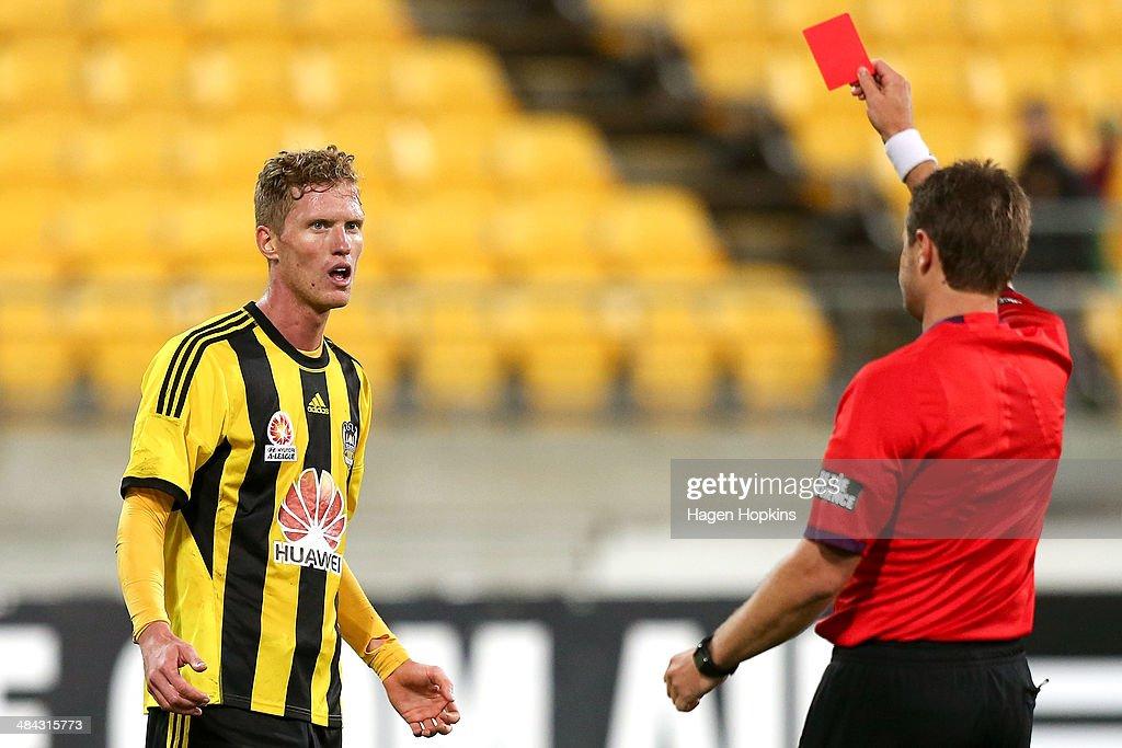 A-League Rd 27 - Wellington v Melbourne