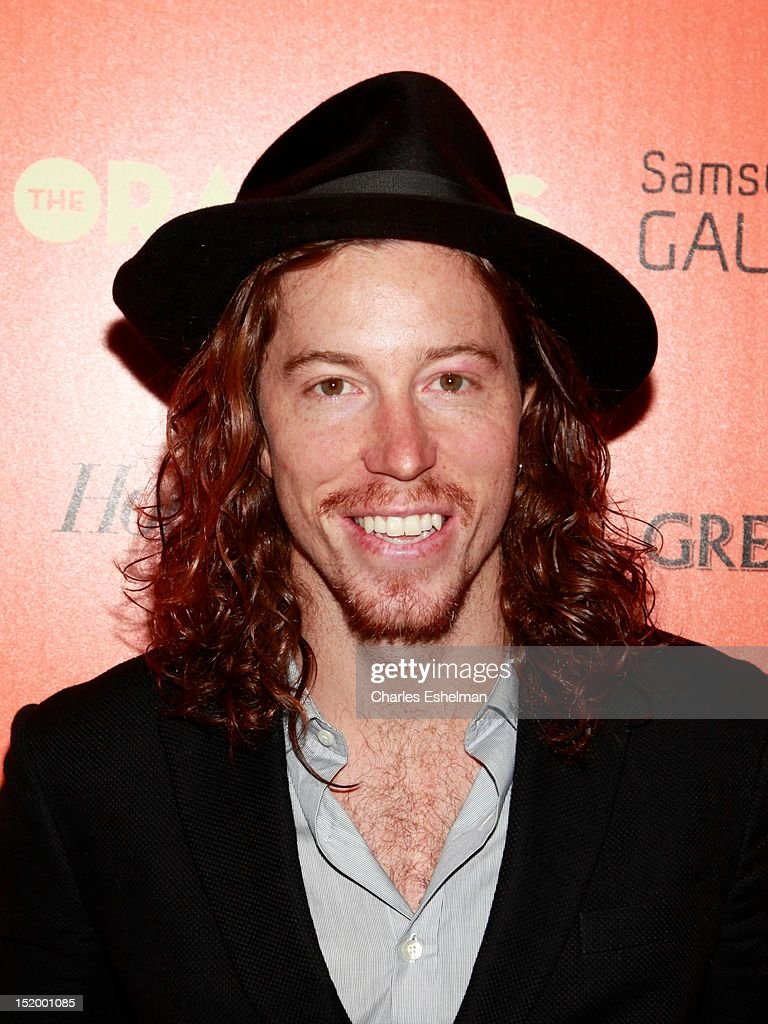 Shaun White attends The Cinema Society with The Hollywood Reporter & Samsung Galaxy S III host a screening of 'The Oranges' at Tribeca Screening Room on September 14, 2012 in New York City.