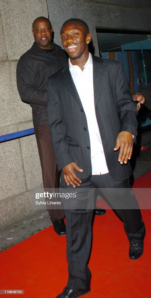Shaun WrightPhillips during Professional Footballers Association Awards After Party April 22 2007 at London Aquarium in London Great Britain
