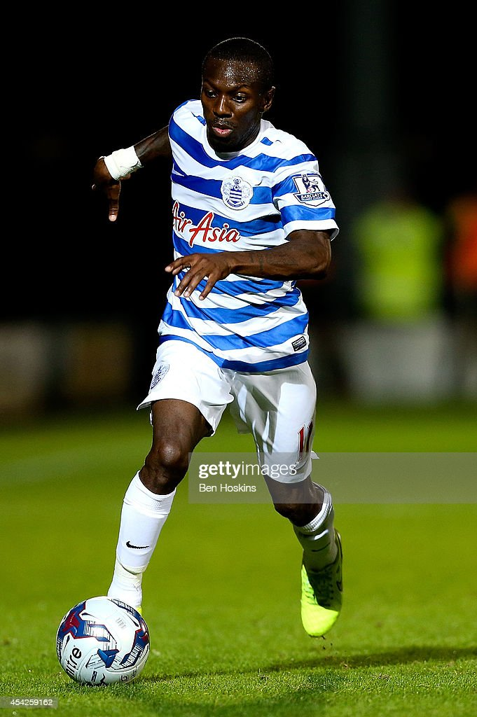Shaun WrightPhillips of QPR in action during the Capital One Cup Second Round match between Burton Albion and Queens Park Rangers at Pirelli Stadium...