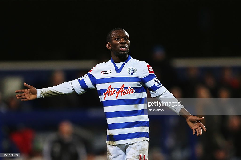 Shaun WrightPhillips of Queens Park Rangers in action during the Barclays Premier League match between Queens Park Rangers and West Bromwich Albion...