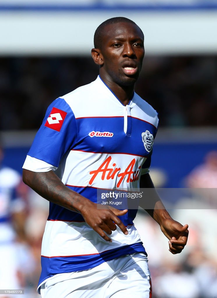 Shaun WrightPhillips of Queens Park Rangers looks on during the Sky Bet Championship match between Queens Park Rangers and Sheffield Wednesday at...