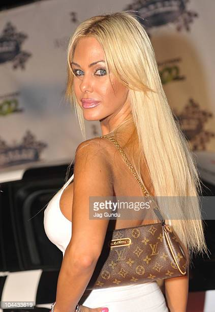 Shauna Sand attends The Rally For Kids With Cancer Scavenger Cup's 'Qualifiers' Celebrity Draft Party at Muzik on September 24th 2010 in Toronto...