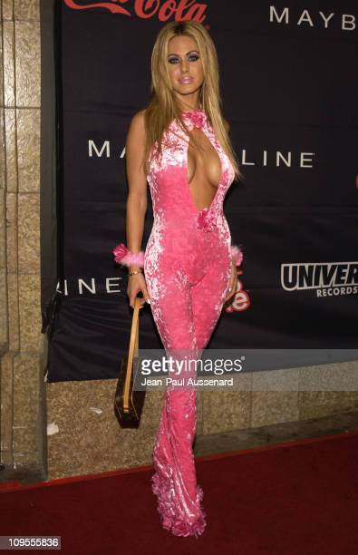 Shauna Sand during Teen People and Universal Records Honor Nelly as the 2002 Artist of the Year Arrivals at Ivar in Hollywood California United States