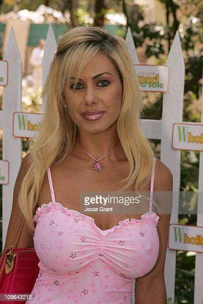 Shauna Sand during W Magazine Hollywood Yard Sale Arrivals at Private Residence in Brentwood California United States