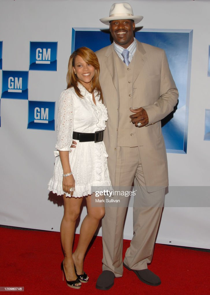 Shaunie O'Neal and Shaquille O'Neal during General Motors Presents 3rd Annual GM All-Car Showdown Hosted by Shaquille O'Neal - Arrivals at Paramount Pictures in Hollywood, California, United States.