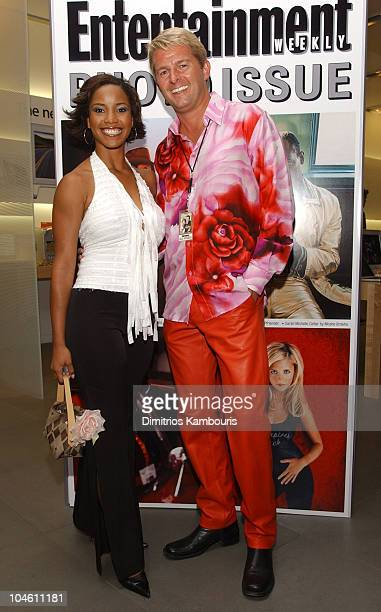 Shauntay Hinton and Fred Nelson during Entertainment Weekly's First Ever Photo Issue Event at The Apple Store in SoHo in New York City New York...