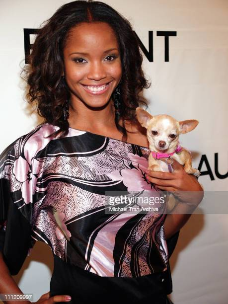 Shauntay Hinton during Flaunt Magazine Presents The Premiere Party of Antik Denim's Signature Store August 18 2005 at Antik Signature Store on...