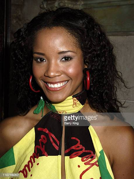 Shauntay Hinton during 'The Charm of Charms' Book Party at Chateau Marmont in Hollywood California United States