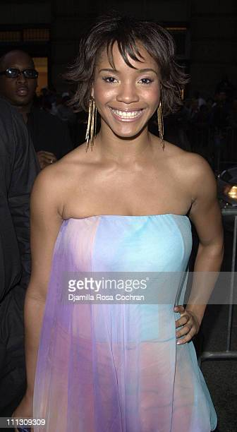 Shauntay Hinton during The Launch of Jay Z's 40/40 Club at 40/40 Club in New York City New York United States