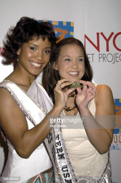 Shauntay Hinton Miss Teen USA during 'NYC Pet Project' Book Release at Planet Hollywood in New York City New York United States