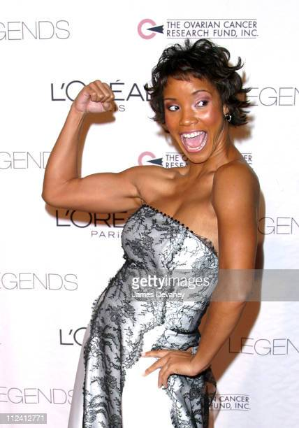 Shauntay Hinton Miss USA 2002 during Legends Gala New York at Hammerstein Ballroom in New York City New York United States