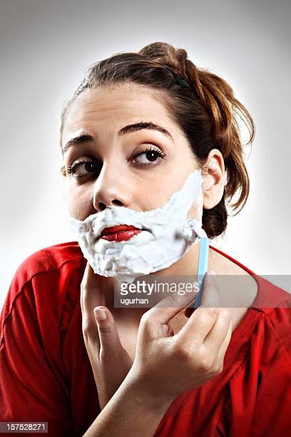 Donna da barba