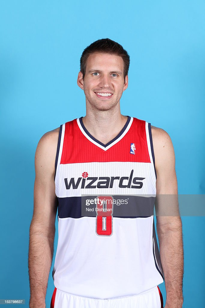 <a gi-track='captionPersonalityLinkClicked' href=/galleries/search?phrase=Shavlik+Randolph&family=editorial&specificpeople=210678 ng-click='$event.stopPropagation()'>Shavlik Randolph</a> #8 of the Washington Wizards poses for a portrait during 2012 NBA Media Day at the Verizon Center on October 1, 2012 in Washington, DC.
