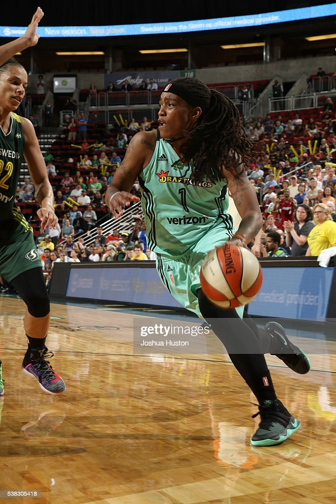 New York Liberty v Seattle Storm