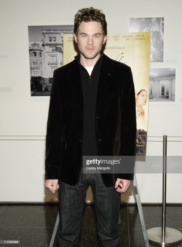 Shawn Ashmore during '3 Needles' New York Premiere - Inside Arrivals at Museum of Modern Art in New York City, New York, United States.