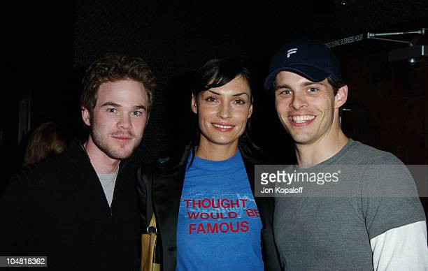 Shawn Ashmore Famke Janssen James Marsden during Endeavor's MTV Movie Awards Party Featuring Ciroc Vodka And LG Mobile Phones at Dolce in West...