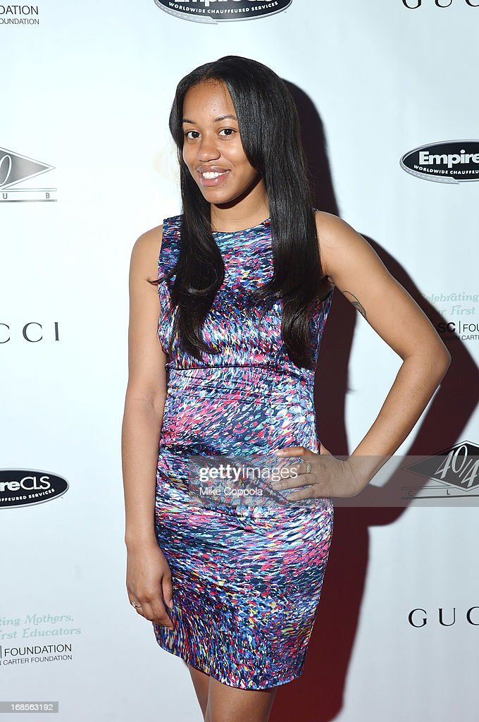 Shawn Carter Scholarship Alumnus Bianca Bell attends the Shawn Carter Foundation's Mother's Day event 'Celebrating Mothers, Our First Educators' at 40 / 40 Club on May 11, 2013 in New York City.