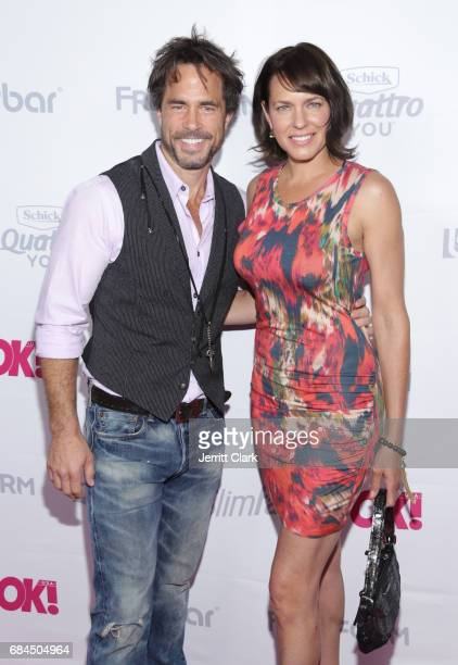 Shawn Christian and guest attend OK Magazine's Summer KickOff Party at W Hollywood on May 17 2017 in Hollywood California