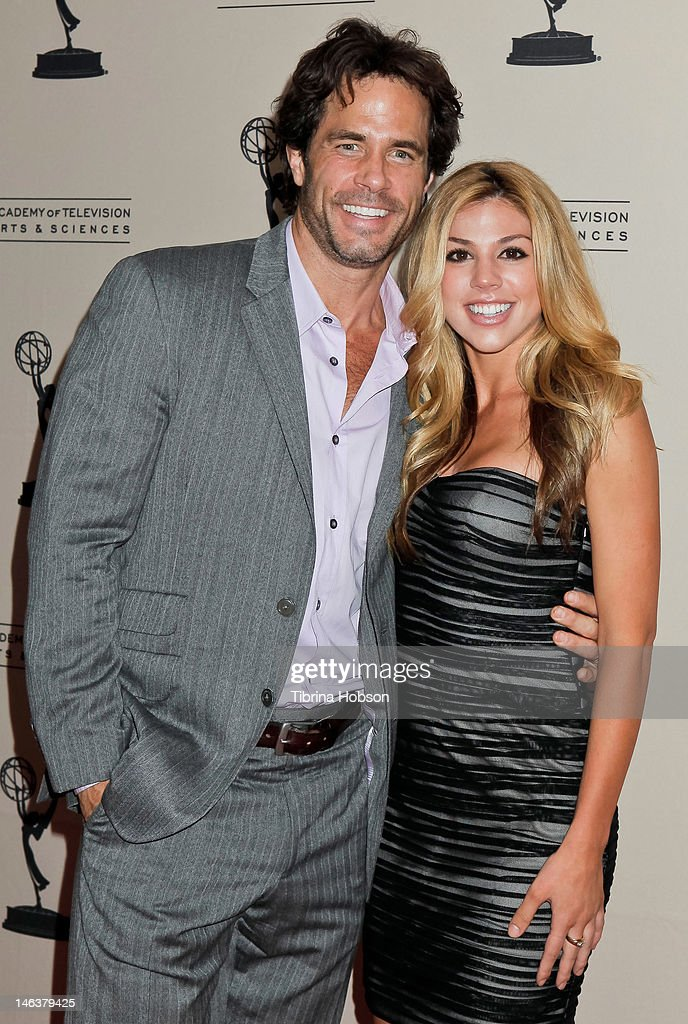 <a gi-track='captionPersonalityLinkClicked' href=/galleries/search?phrase=Shawn+Christian&family=editorial&specificpeople=984129 ng-click='$event.stopPropagation()'>Shawn Christian</a> and Kate Mansi attend the 39th annual daytime Emmy Awards nominees reception at SLS Hotel on June 14, 2012 in Beverly Hills, California.