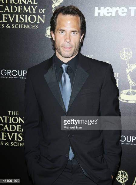 Shawn Christian arrives at the 41st Annual Daytime Emmy Awards held at The Beverly Hilton Hotel on June 22 2014 in Beverly Hills California