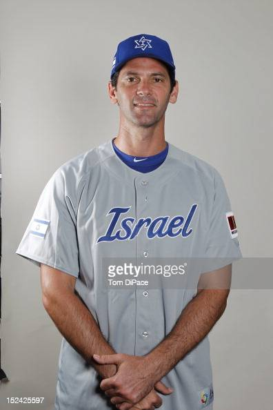 Shawn Green of Team Israel poses for a head shot for the World Baseball Classic Qualifier at Roger Dean Stadium in Jupiter Florida on Monday...
