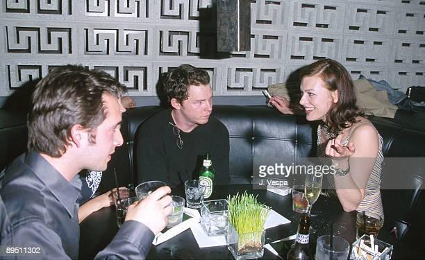 Shawn Hatosy and Milla Jovovich