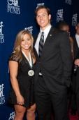 Shawn Johnson and Andrew East attend the 28th Annual Great Sports Legends Dinner to Benefit The Buoniconti Fund To Cure Paralysis at The...