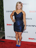 Shawn Johnson arrives at the Teen Vogue's 10th Anniversary Annual Young Hollywood Party on September 27 2012 in Beverly Hills California