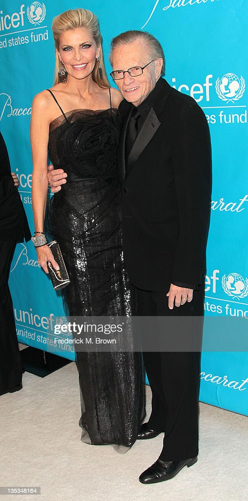 Shawn King (L) and <a gi-track='captionPersonalityLinkClicked' href=/galleries/search?phrase=Larry+King&family=editorial&specificpeople=202014 ng-click='$event.stopPropagation()'>Larry King</a> attend The 2011 Unicef Ball at The Beverly Wilshire Hotel on December 8, 2011 in Beverly Hills, California