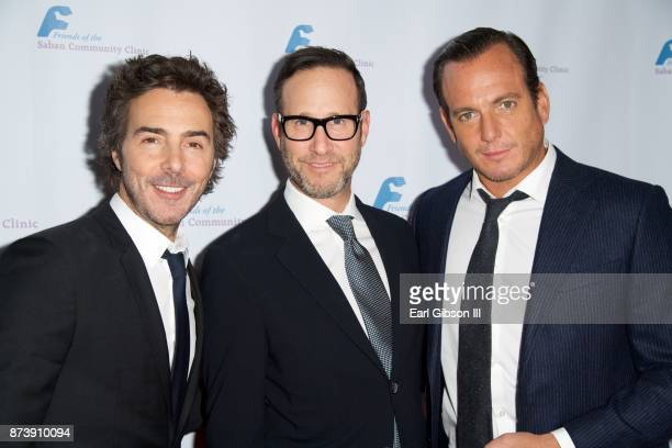 Shawn Levy Richard Weitz and Will Arnett attend Saban Community Clinic's 50th Anniversary Dinner Gala at The Beverly Hilton Hotel on November 13 2017...