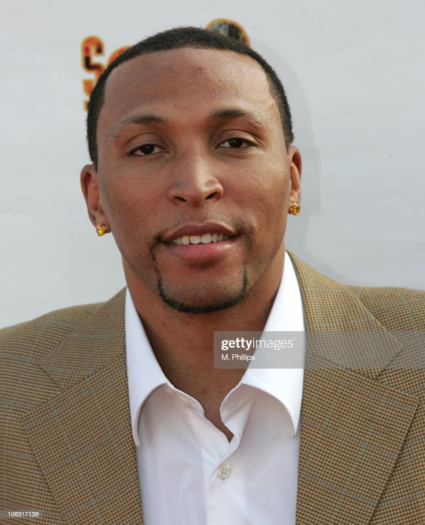 Shawn Marion during 21st Annual Soul Train Music Awards - Arrivals at Pasadena Civic Center in Pasadena, California, United States.