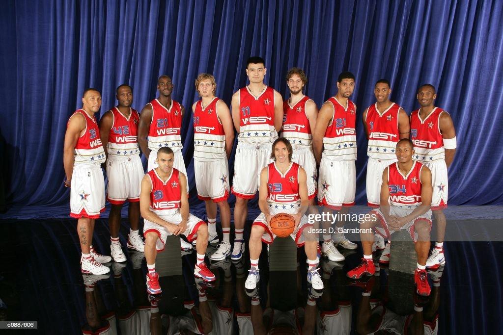 ¿Cuánto mide Dirk Nowitzki? - Real height Shawn-marion-elton-brand-kevin-garnett-dirk-nowitzki-yao-ming-pau-picture-id56887606