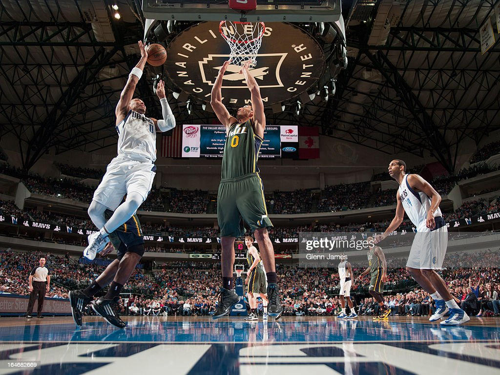 <a gi-track='captionPersonalityLinkClicked' href=/galleries/search?phrase=Shawn+Marion&family=editorial&specificpeople=201566 ng-click='$event.stopPropagation()'>Shawn Marion</a> #0 of the Dallas Mavericks drives to the basket against the Utah Jazz on March 24, 2013 at the American Airlines Center in Dallas, Texas.