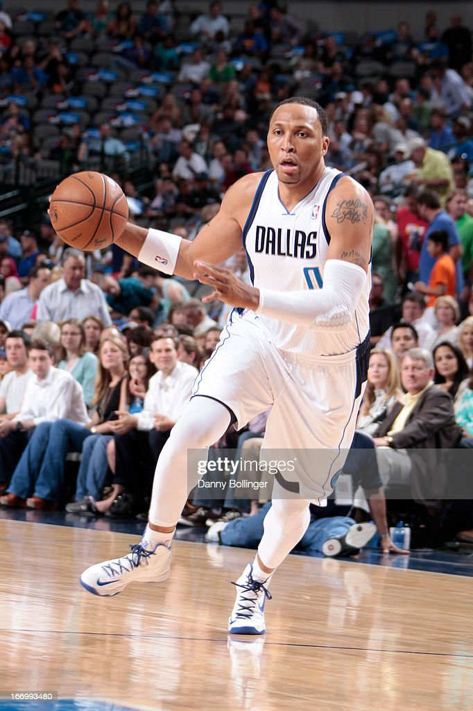 <a gi-track='captionPersonalityLinkClicked' href=/galleries/search?phrase=Shawn+Marion&family=editorial&specificpeople=201566 ng-click='$event.stopPropagation()'>Shawn Marion</a> #0 of the Dallas Mavericks drives to the basket against the Memphis Grizzlies on April 15, 2013 at the American Airlines Center in Dallas, Texas.