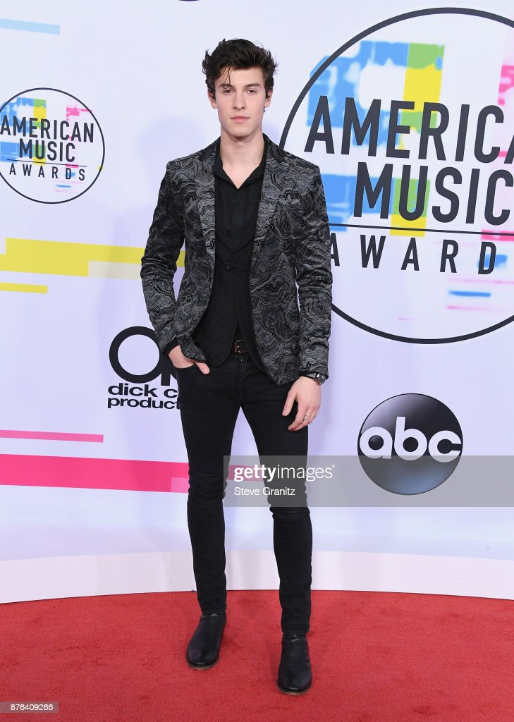 Shawn Mendes attends the 2017 American Music Awards at Microsoft Theater on November 19, 2017 in Los Angeles, California.
