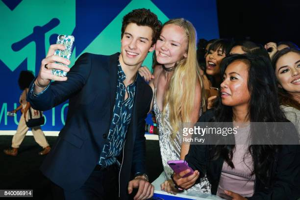 Shawn Mendes attends the 2017 MTV Video Music Awards at The Forum on August 27 2017 in Inglewood California