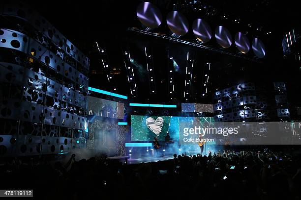 Shawn Mendes performs at the 2015 Much Music Video Awards at MuchMusic on Queen Street West in Toronto June 21 2015