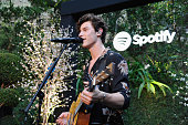 Shawn Mendes Meets His Biggest Fans from Spotify At a...