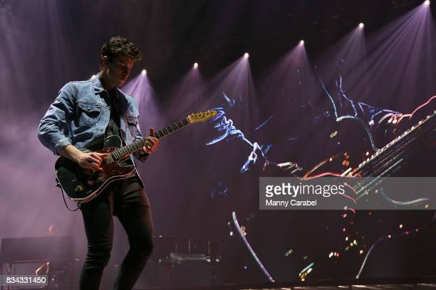 Shawn Mendes performs in concert at Prudential Center on August 17 2017 in Newark New Jersey