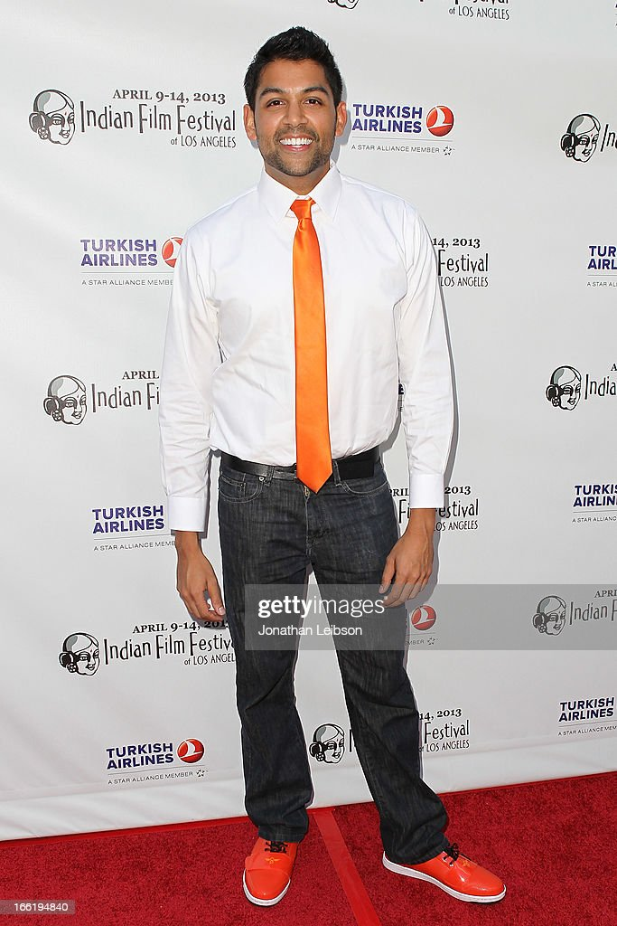 Shawn Parikh attends the 11th Annual Indian Film Festival Of Los Angeles - Opening Night Gala for 'Gangs Of Wasseypur' at ArcLight Hollywood on April 9, 2013 in Hollywood, California.