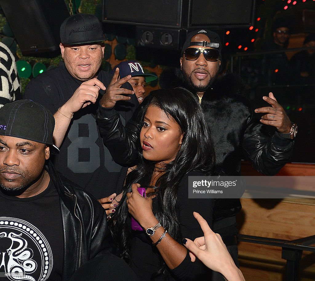 Shawn Pecas, <a gi-track='captionPersonalityLinkClicked' href=/galleries/search?phrase=Young+Jeezy&family=editorial&specificpeople=537540 ng-click='$event.stopPropagation()'>Young Jeezy</a> and Karen Civil attend <a gi-track='captionPersonalityLinkClicked' href=/galleries/search?phrase=Young+Jeezy&family=editorial&specificpeople=537540 ng-click='$event.stopPropagation()'>Young Jeezy</a> And Victor Cruz's Post Super Bowl Party at Greenhouse on February 2, 2014 in New York City.