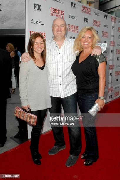 Shawn Ryan and attend Screening Of FX's 'Terriers' at ArcLight Cinemas on September 7th 2010 in Hollywood California