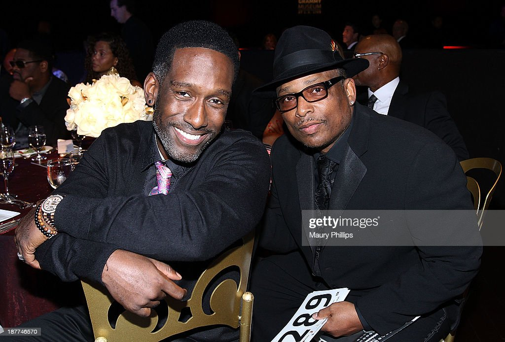 <a gi-track='captionPersonalityLinkClicked' href=/galleries/search?phrase=Shawn+Stockman&family=editorial&specificpeople=206742 ng-click='$event.stopPropagation()'>Shawn Stockman</a> of Boyz II Men and music producer <a gi-track='captionPersonalityLinkClicked' href=/galleries/search?phrase=Terry+Lewis&family=editorial&specificpeople=217229 ng-click='$event.stopPropagation()'>Terry Lewis</a> attend Architects of Sound: Motown at The GRAMMY Museum on November 11, 2013 in Los Angeles, California.