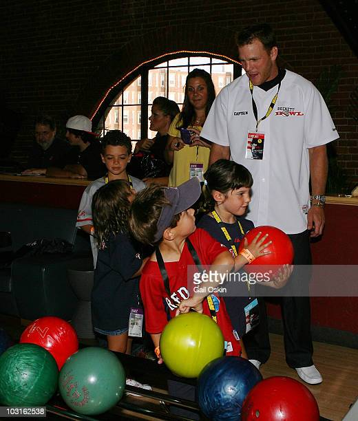Shawn Thornton attends the Beckett Bowl at Children's Hospital Boston on July 29 2010 in Boston Massachusetts