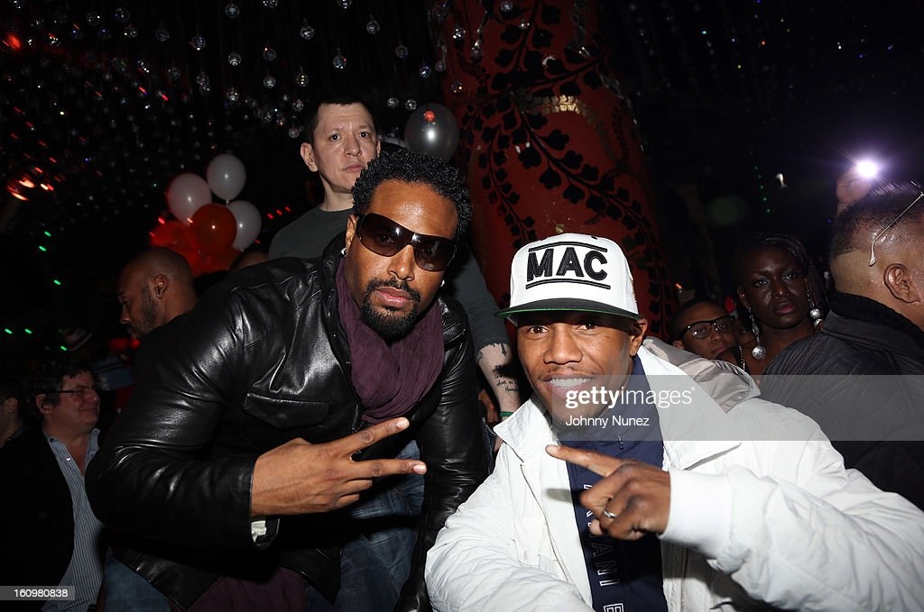 <a gi-track='captionPersonalityLinkClicked' href=/galleries/search?phrase=Shawn+Wayans&family=editorial&specificpeople=208824 ng-click='$event.stopPropagation()'>Shawn Wayans</a> and <a gi-track='captionPersonalityLinkClicked' href=/galleries/search?phrase=Zab+Judah&family=editorial&specificpeople=172008 ng-click='$event.stopPropagation()'>Zab Judah</a> attend Kid Capri's Birthday Party at Greenhouse on February 7, 2013 in New York City.