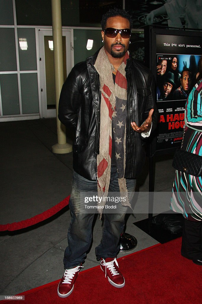 Shawn Wayans attends the 'A Haunted House' Los Angeles premiere held at the ArcLight Hollywood on January 3, 2013 in Hollywood, California.